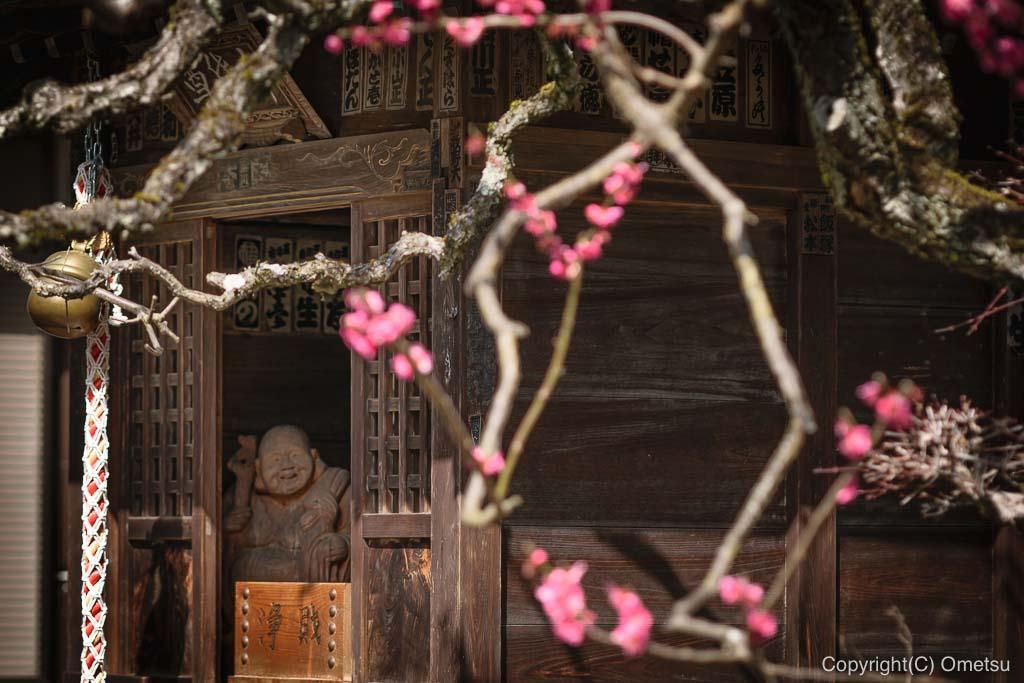 青梅・地蔵院の、七福神・布袋尊