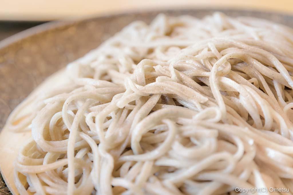 青梅・千ケ瀬の 「稀星」の、蕎麦