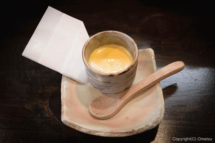 出汁巻き玉子店、卵道のプリン
