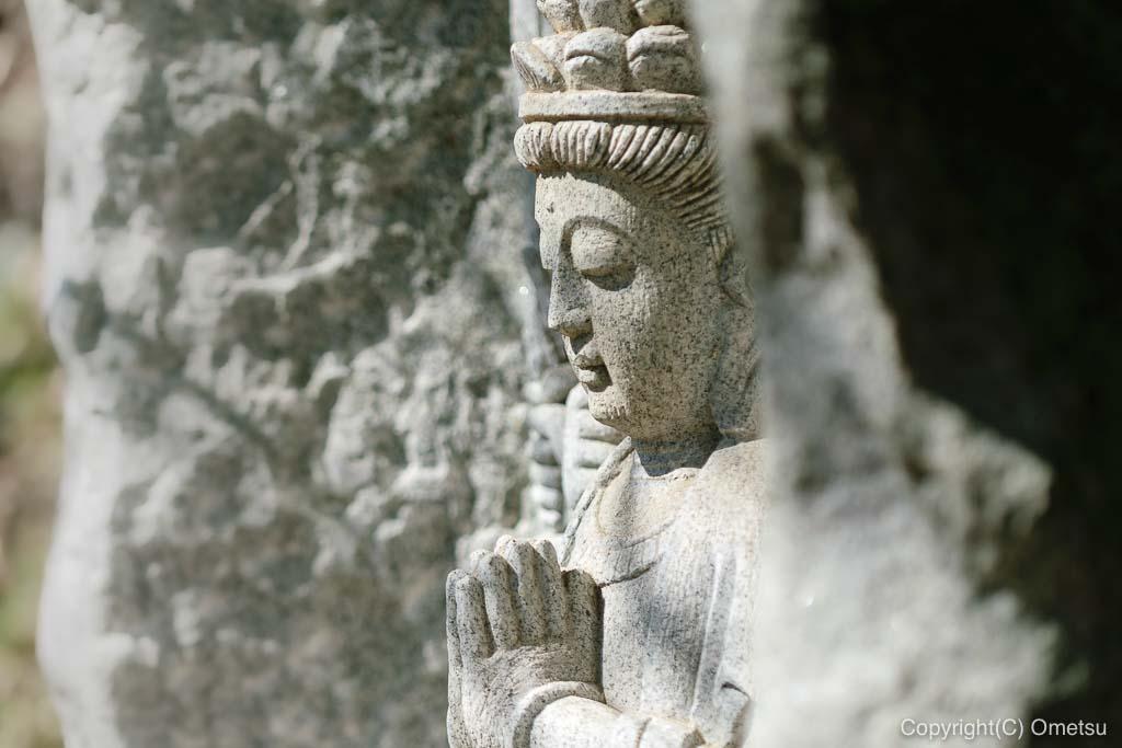 あきる野市・大悲願寺の、八十八の石像