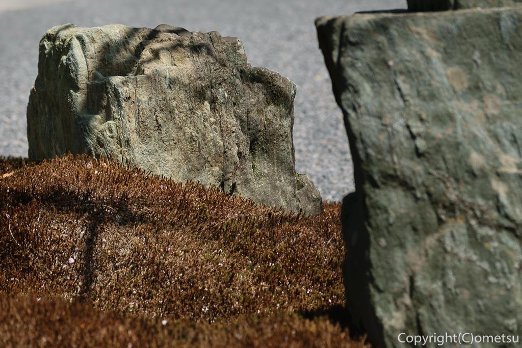 青梅・玉泉寺の庭石