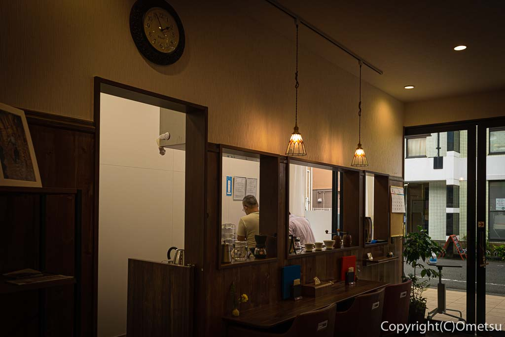 青梅・河辺のカフェ・悠の店内