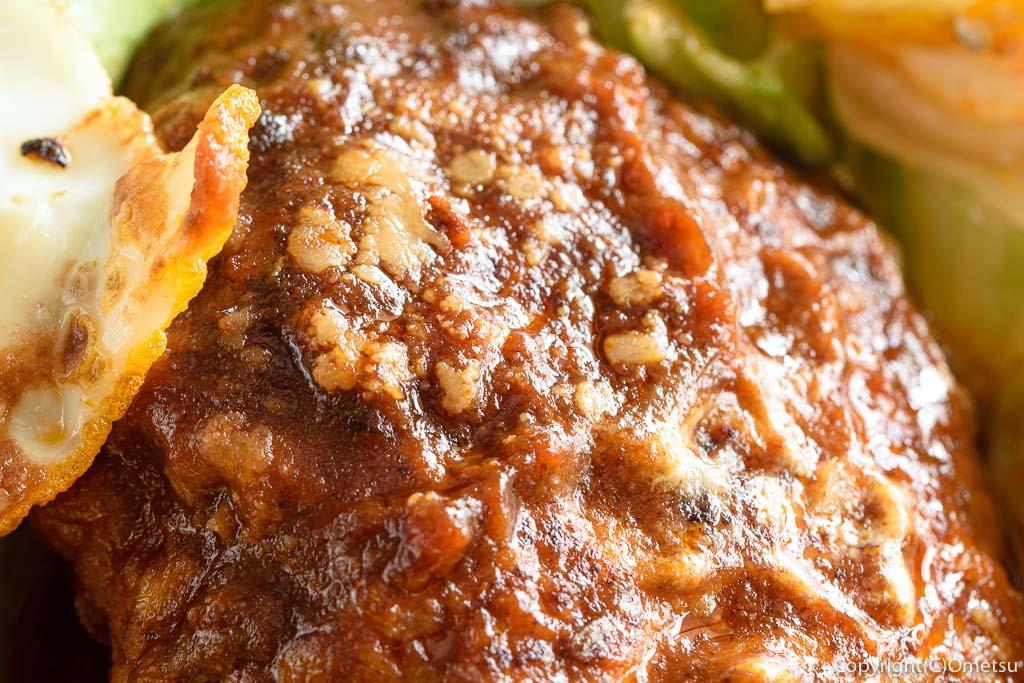 小作「世界一のミートボール」のハンバーグ弁当のハンバーグ