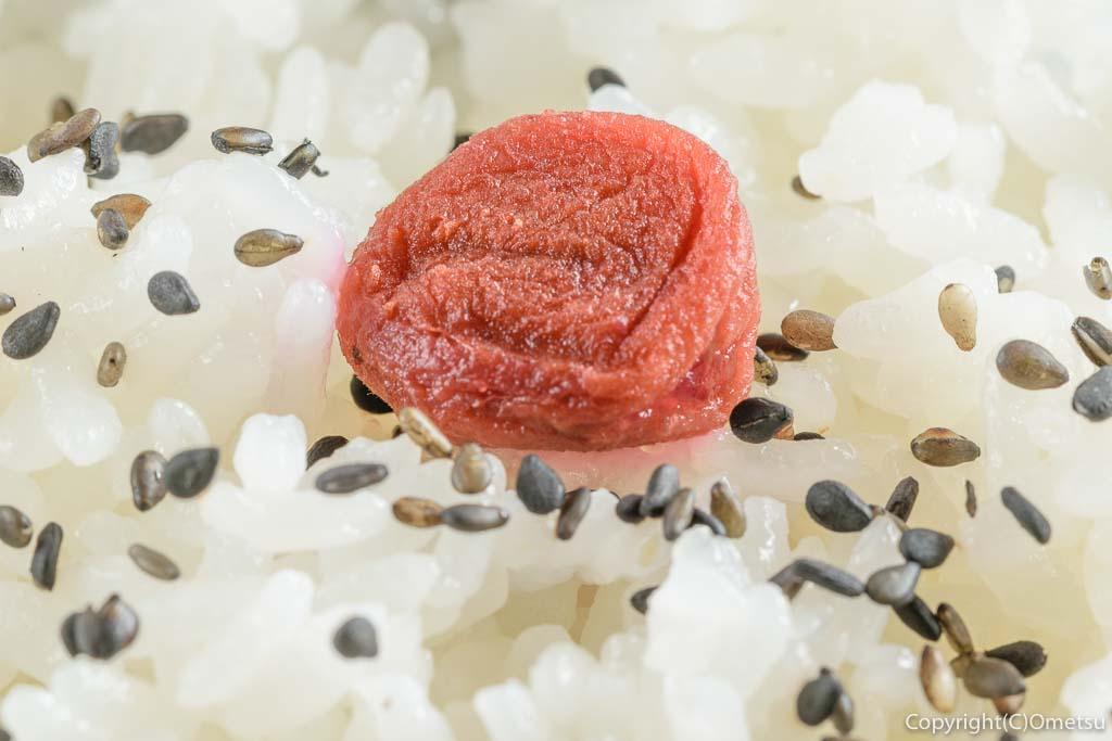 東青梅の洋食店beeの日替わり弁当のご飯