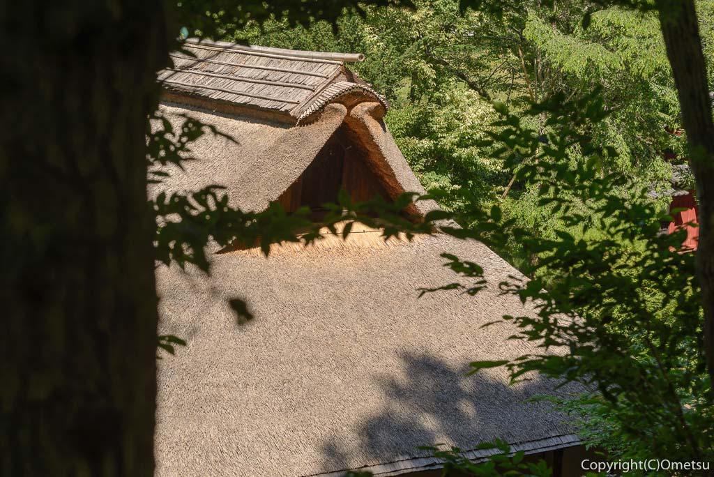 羽村市郷土博物館の、旧下田家住宅