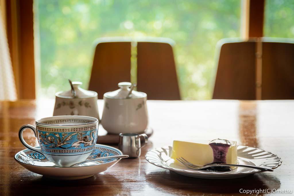 青梅・二俣尾のコーヒーハウス・らびっとのコーヒーとケーキ