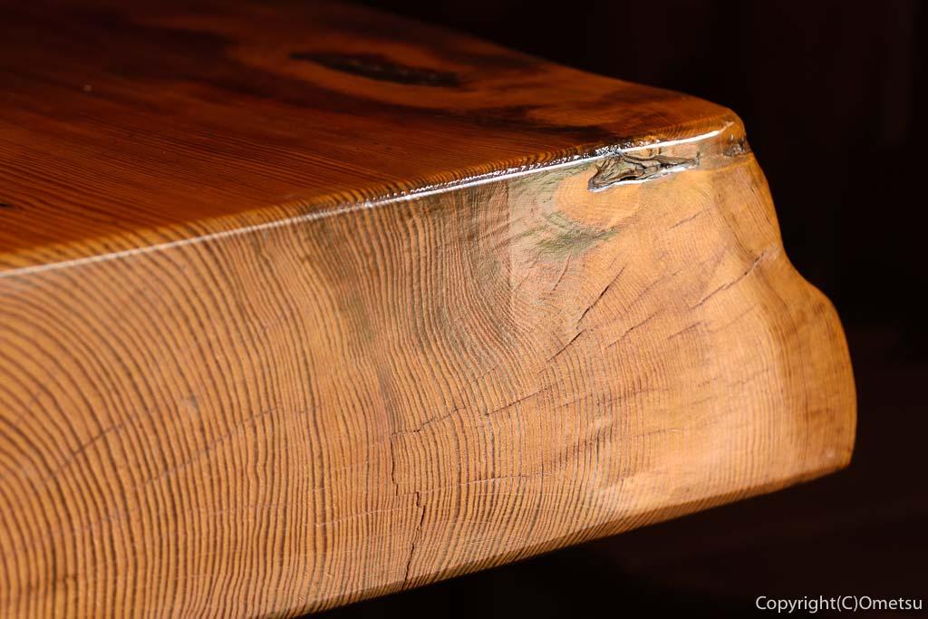 青梅・二俣尾のコーヒーハウス・らびっとのテーブル