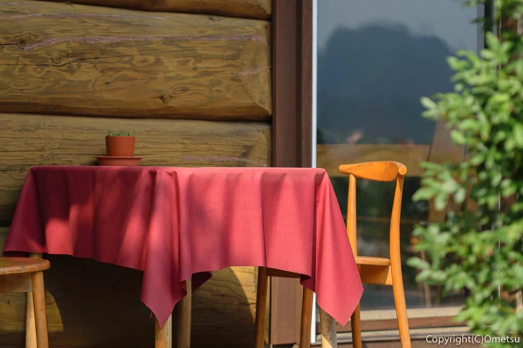 青梅・二俣尾のコーヒーハウス・らびっとのテラス