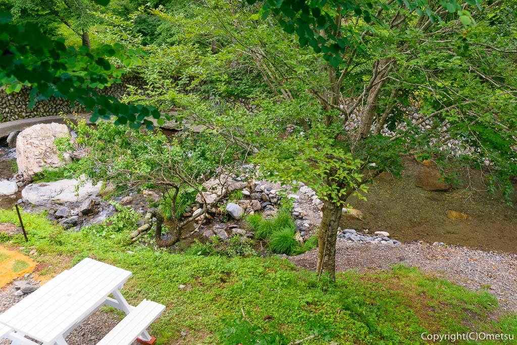 青梅・成木の家の裏の川