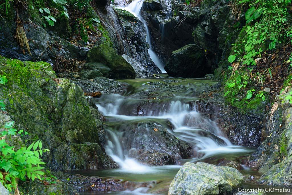 青梅・成木の家の裏の滝
