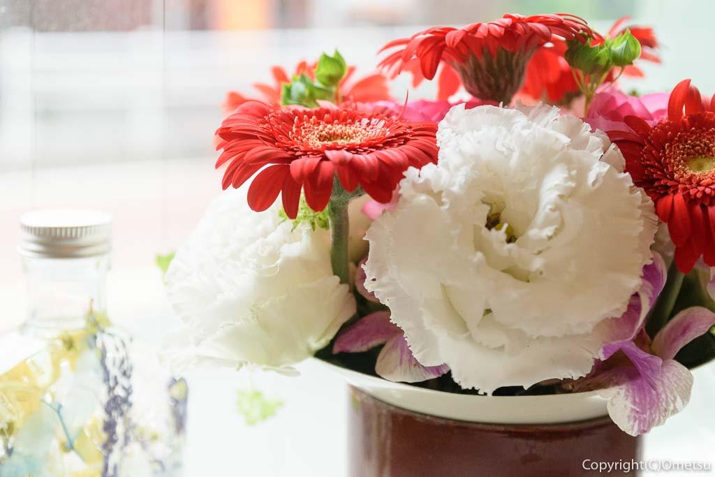 青梅市・御岳の、ベーカリー・レターの花