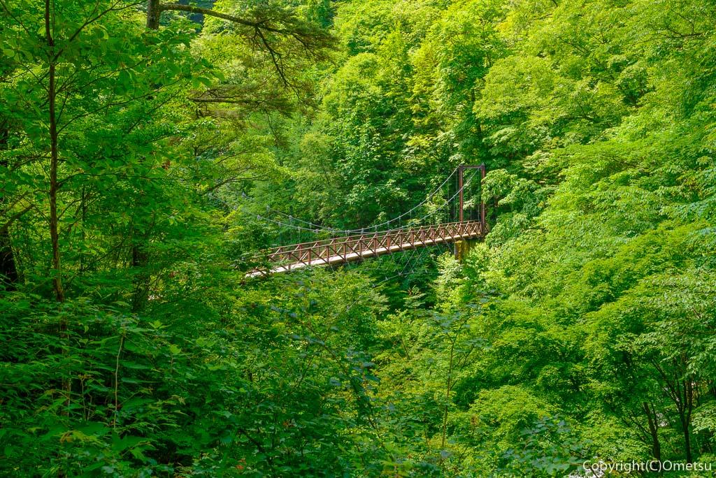 檜原村・三頭山の、滝見橋