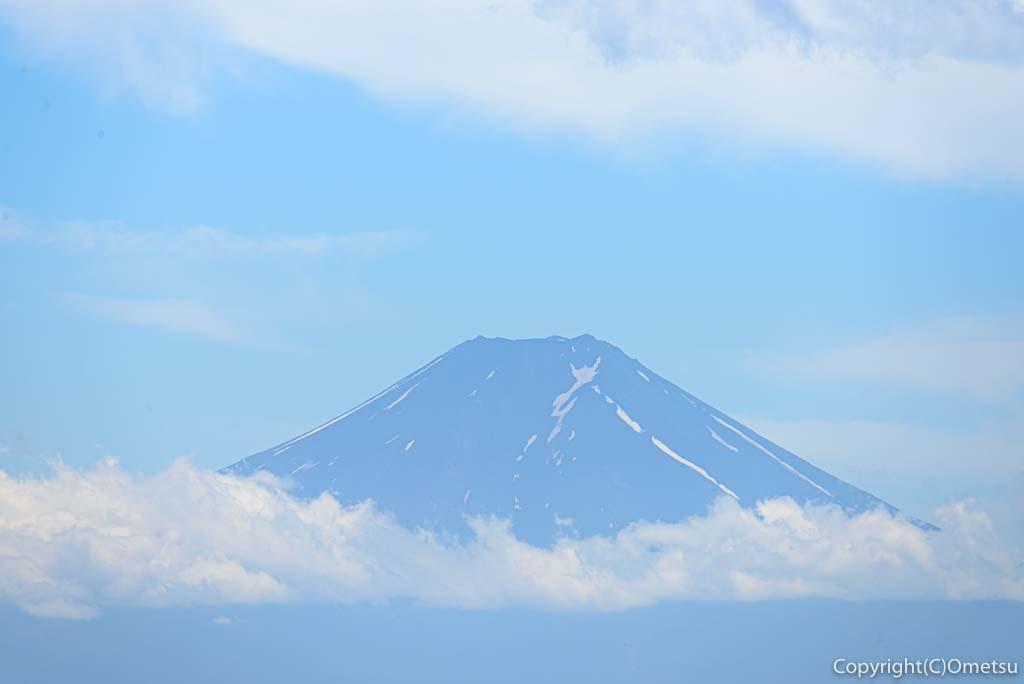 檜原村・三頭山からの、富士山