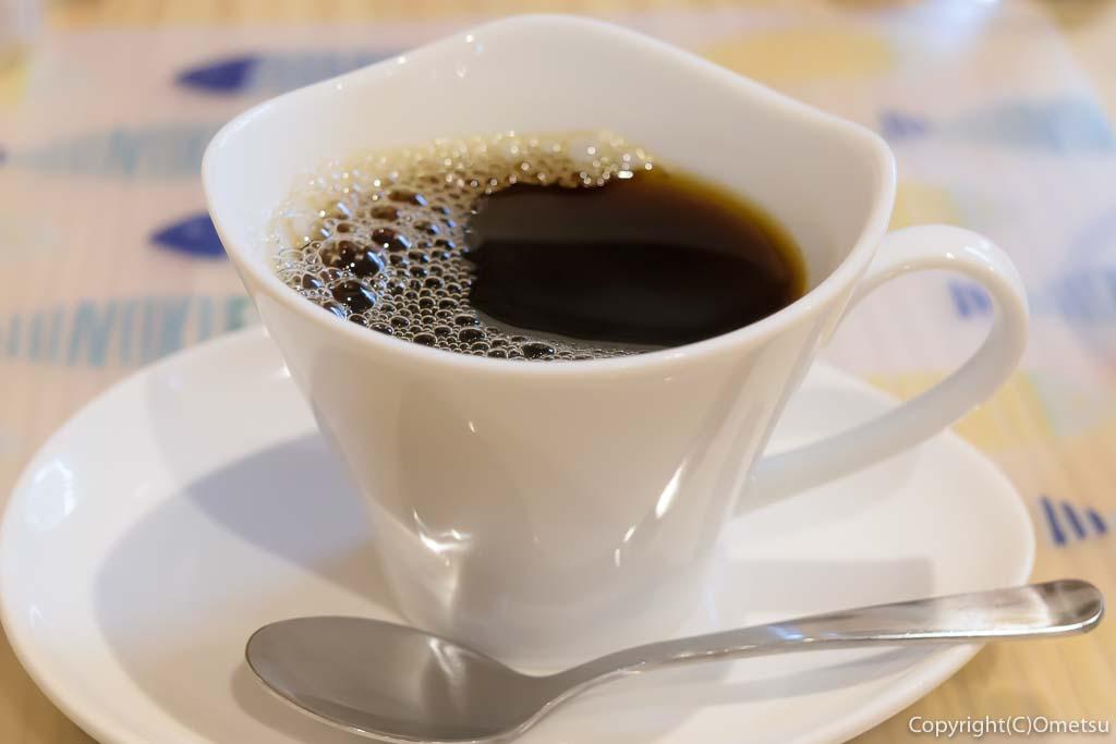 青梅・河辺のカフェ「もりのねこ」のコーヒー