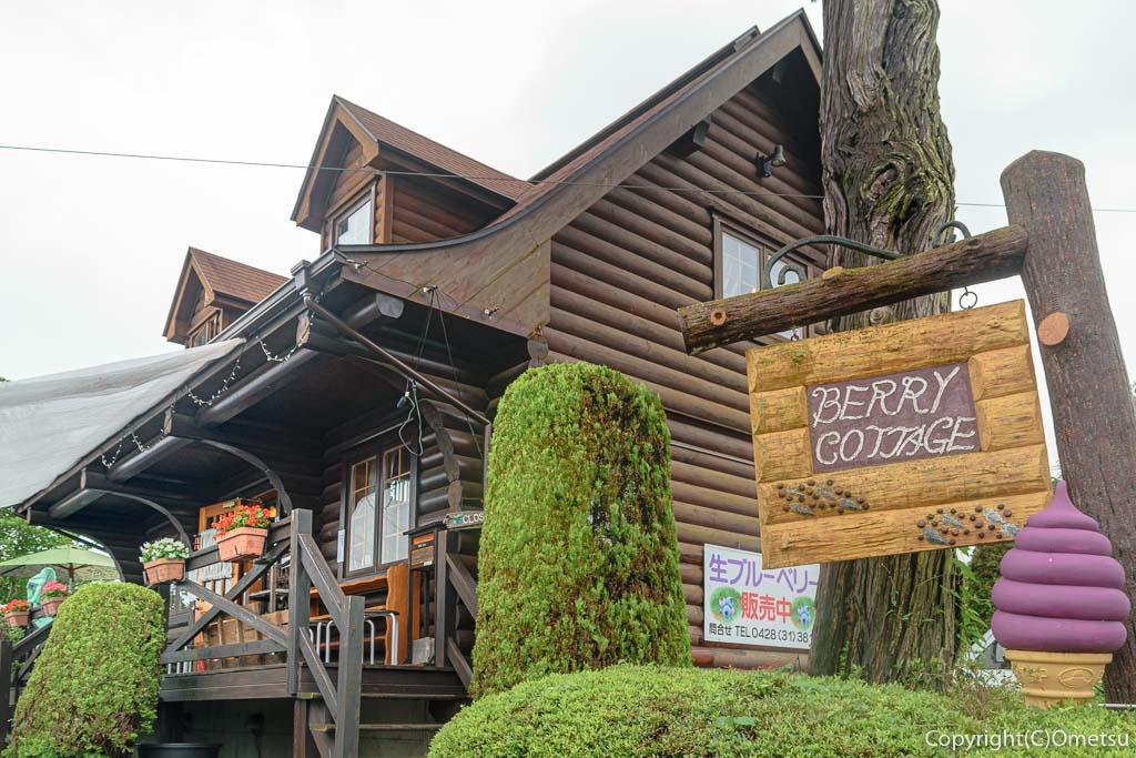 東京・青梅市のスモールフルーツランドのカフェ、ベリーコテージ