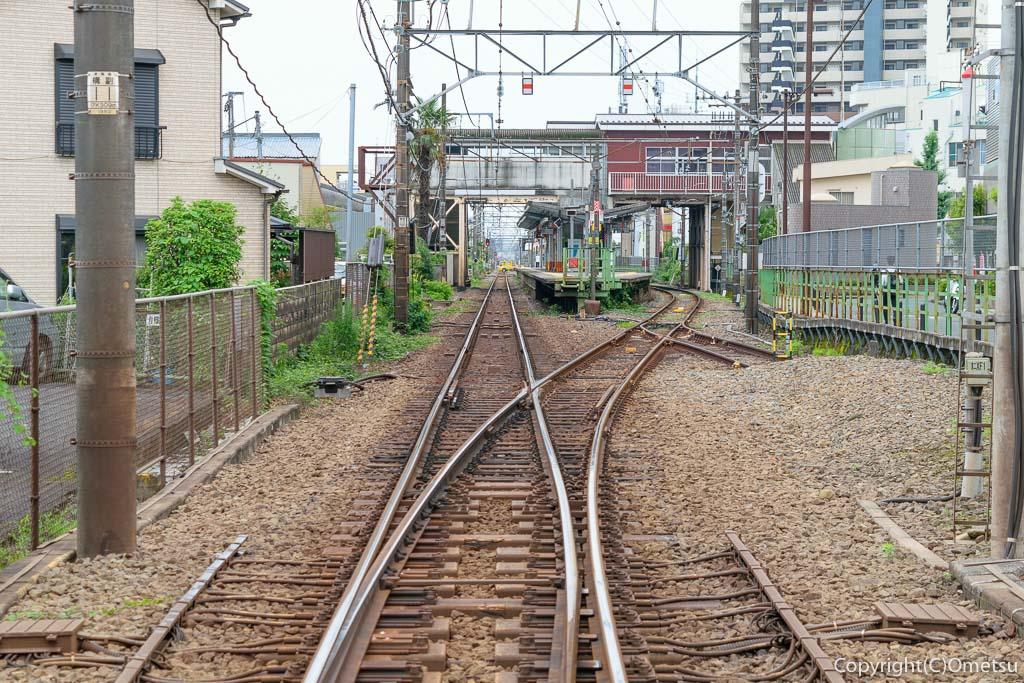 東青梅駅西側