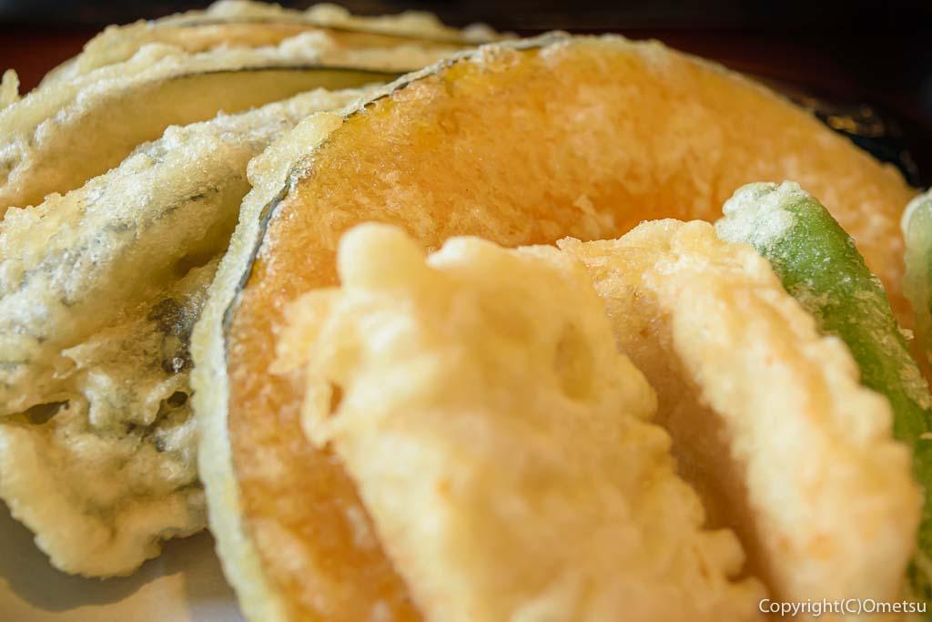 羽村市・羽西の蕎麦店、河邊の天ぷら