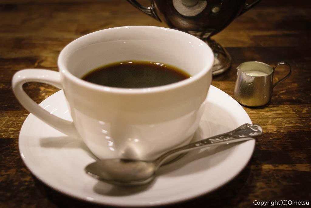 青梅・河辺の洋食店、K&Kの、コーヒー