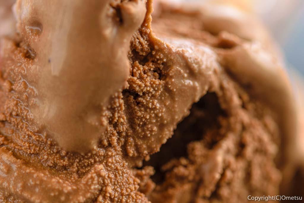 東京都・瑞穂町の、清水牧場・WEASTLAND FARMの チョコラータジェラート