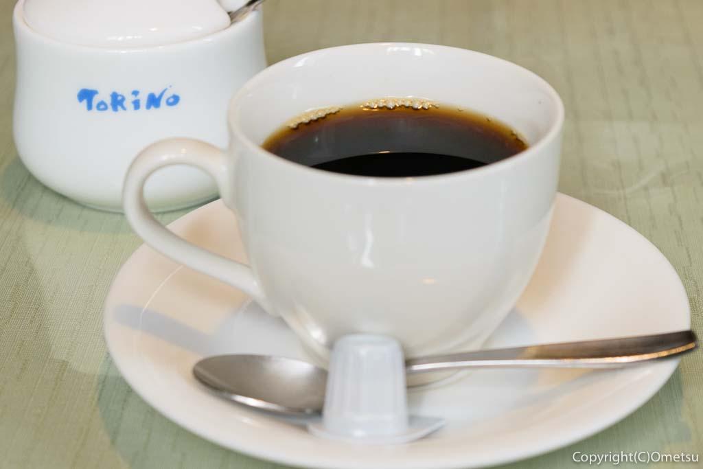 あきる野市の、イタリアンレストラン トリノの、コーヒー