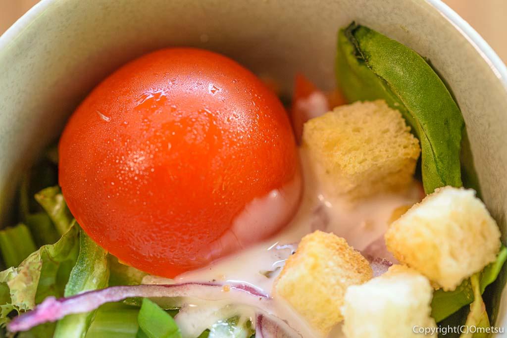青梅市・沢井マウンテンカフェの、焼き野菜カレーのサラダ