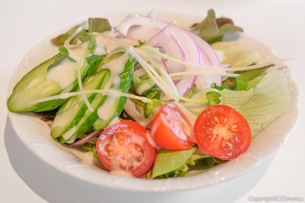 青梅の「カフェHaruKiyo」のサラダ