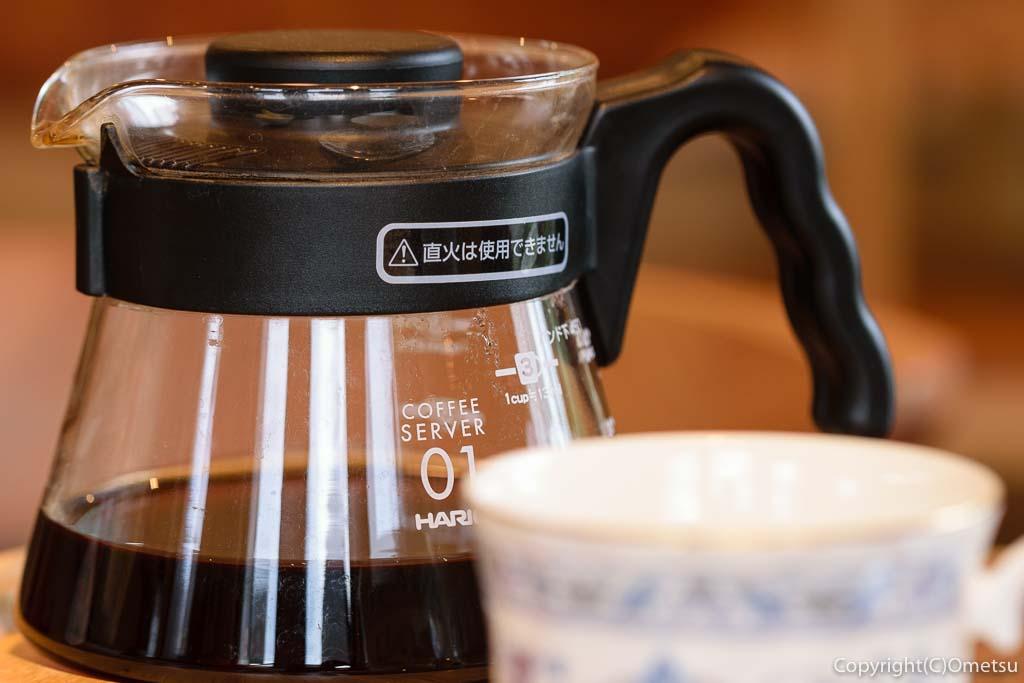 青梅の「カフェHaruKiyo」の、柚子のコーヒー
