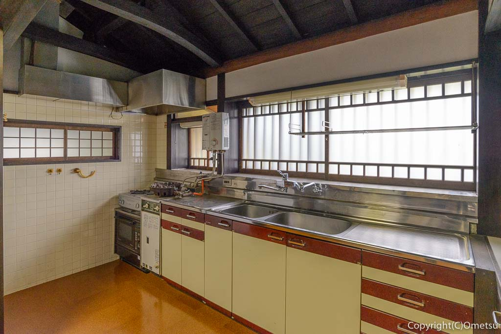 青梅市・吉川英治記念館・母屋のキッチン