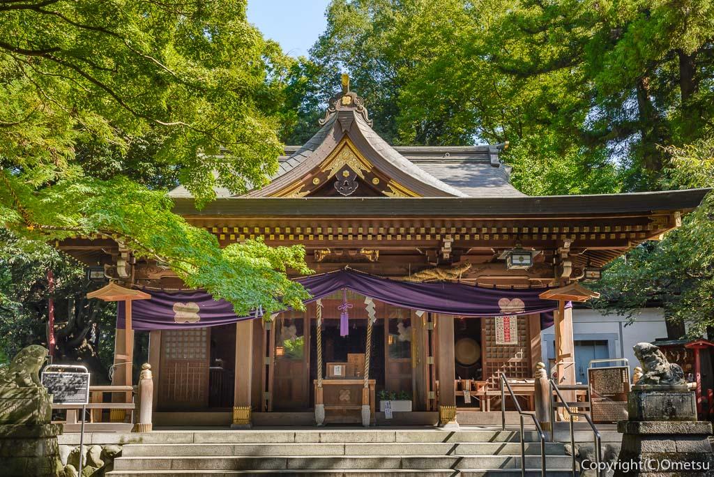 羽村市・武蔵阿蘇神社の本殿
