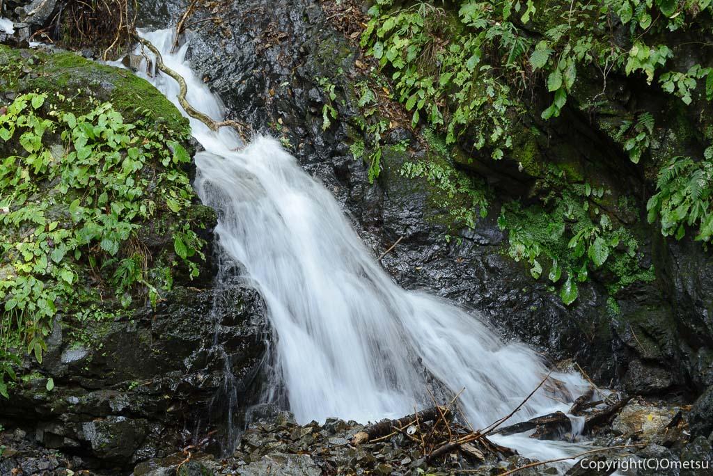 奥多摩むかし道の小さな滝