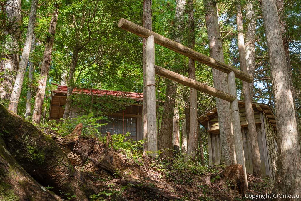 奥多摩町・奥多摩むかし道の、浅間神社