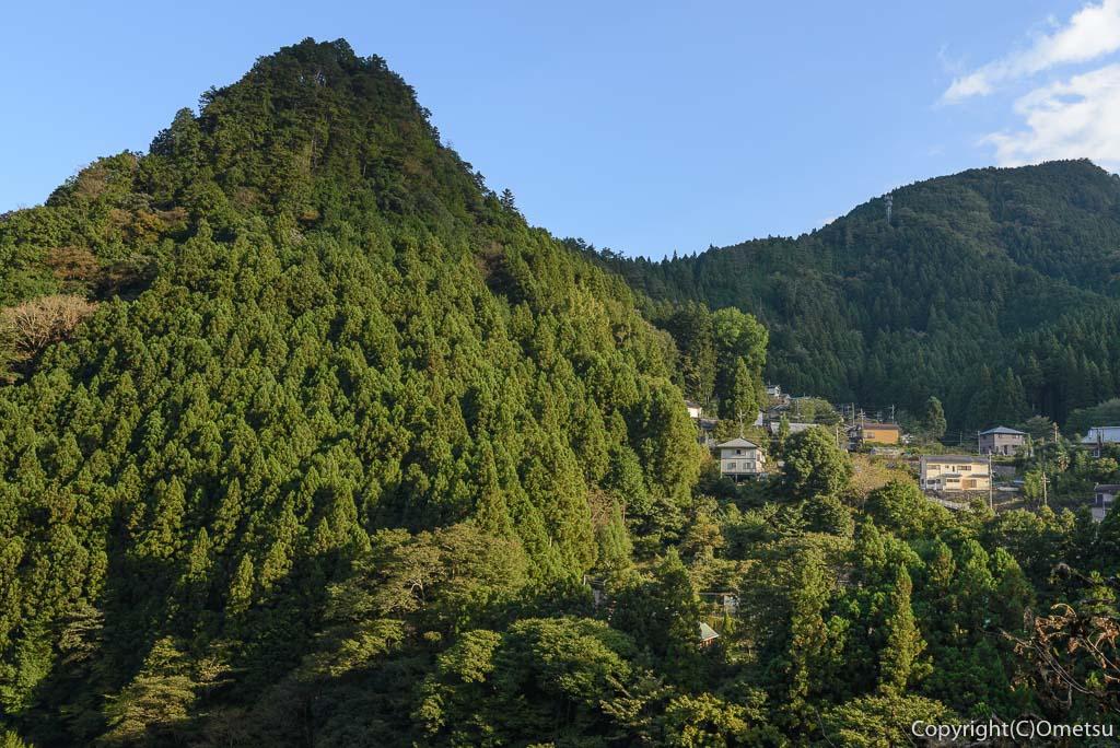 奥多摩むかし道からの、愛宕山