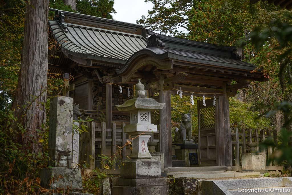 武蔵御嶽神社の大口真神社