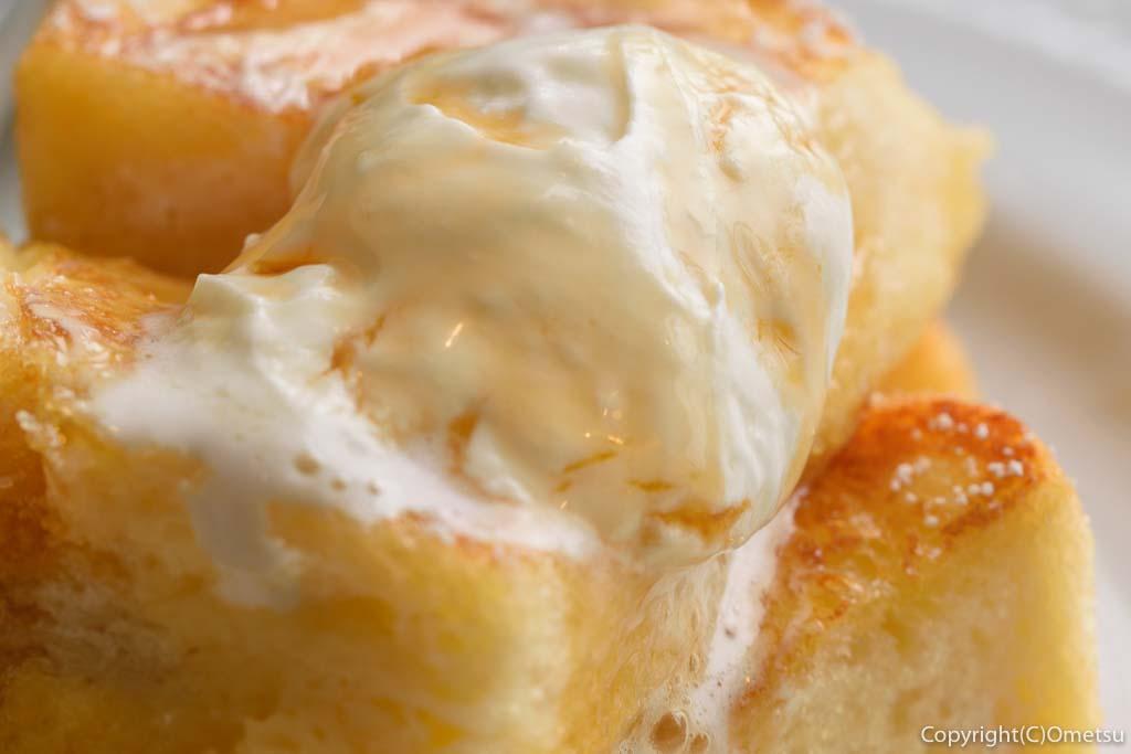 星乃珈琲店の、フレンチトースト・モーニングの卵