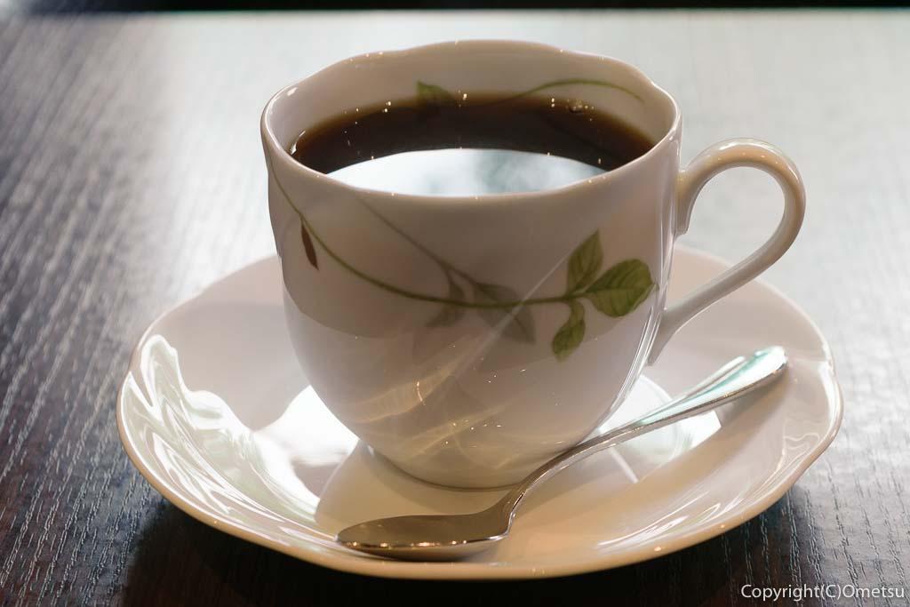 高倉町珈琲の、ブレンドコーヒー