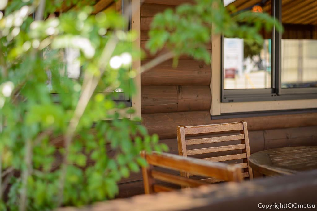 ジロー珈琲羽村店のテラス席
