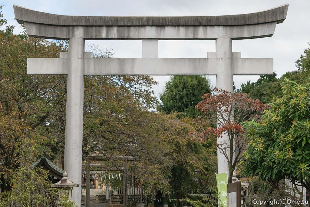 青梅市の新町御嶽神社