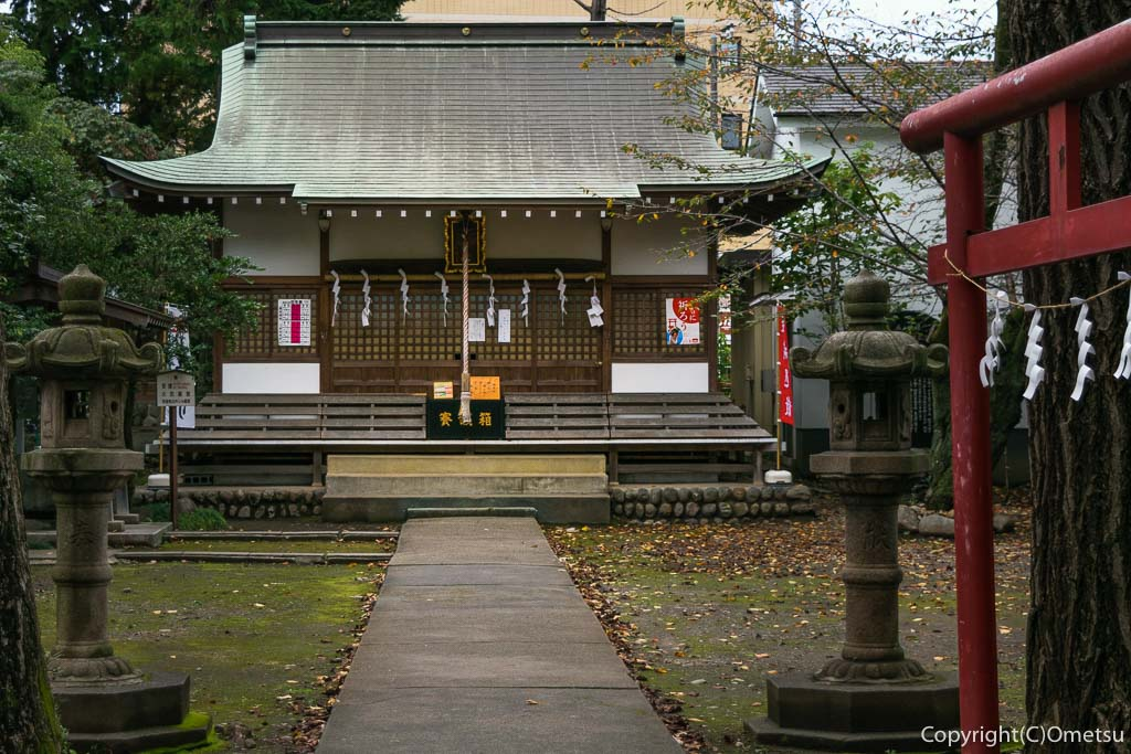 羽村市・五ノ神神社