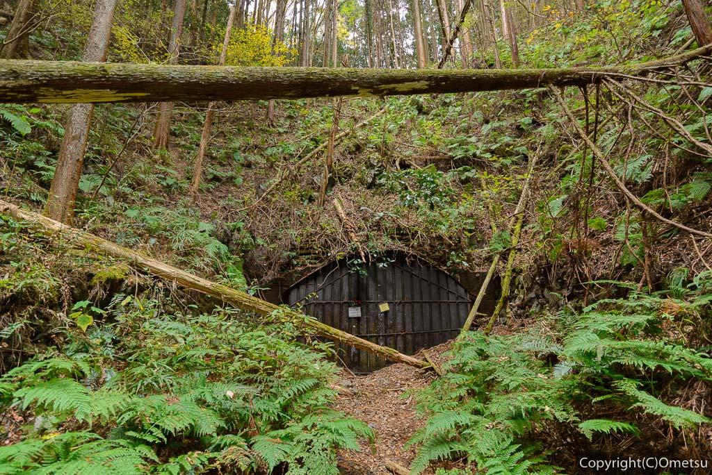青梅市・成木の、旧・吹上隧道