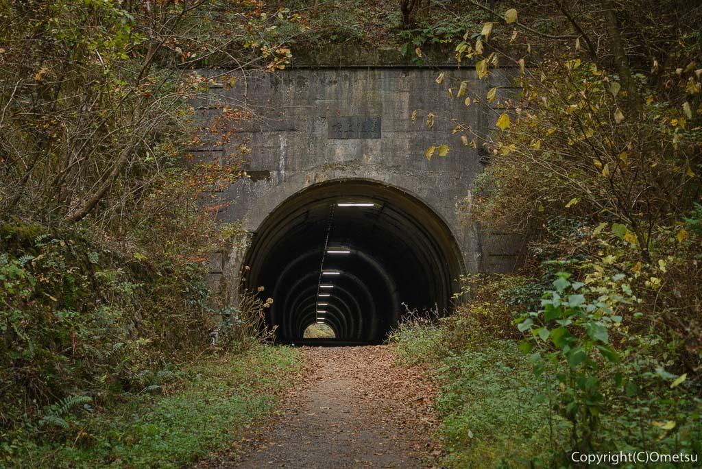 青梅市の、二代目の旧・吹上トンネル
