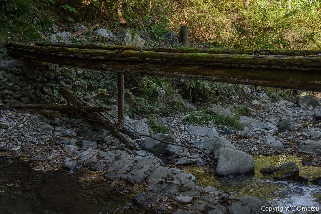 檜原村・数馬の九頭龍の滝の橋