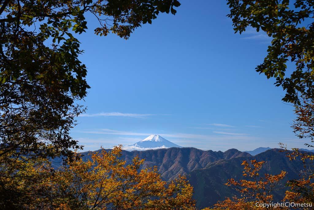 田和峠からの富士山