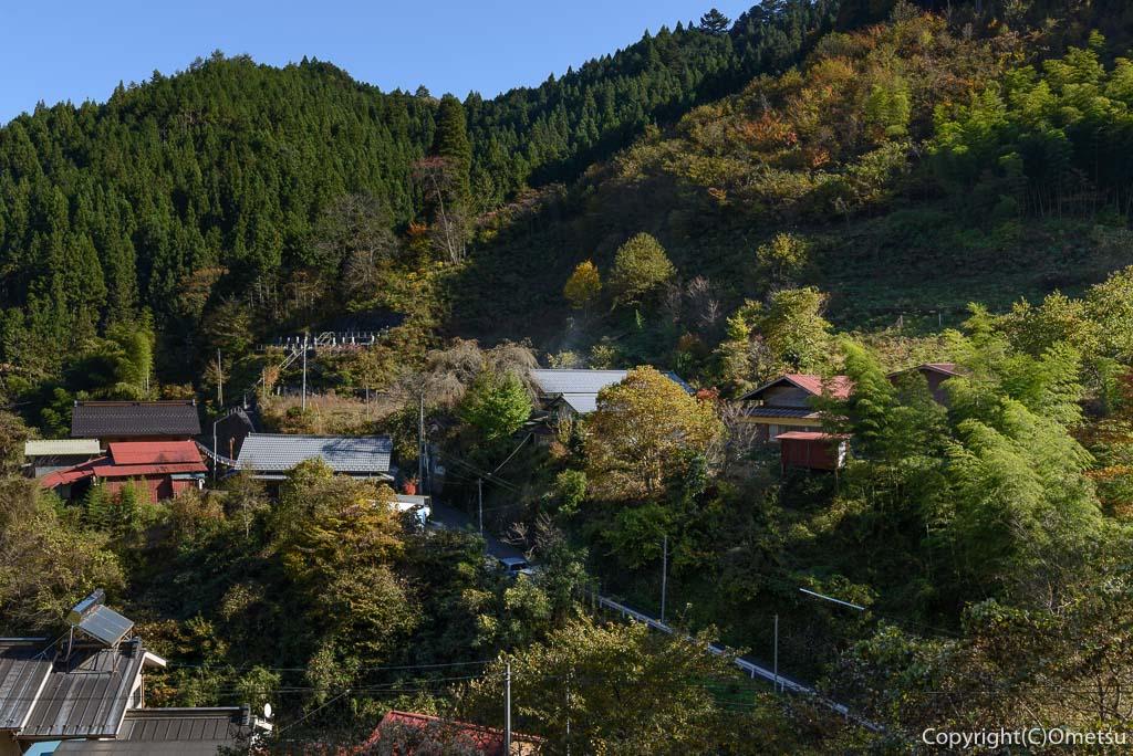檜原村・笛吹の集落