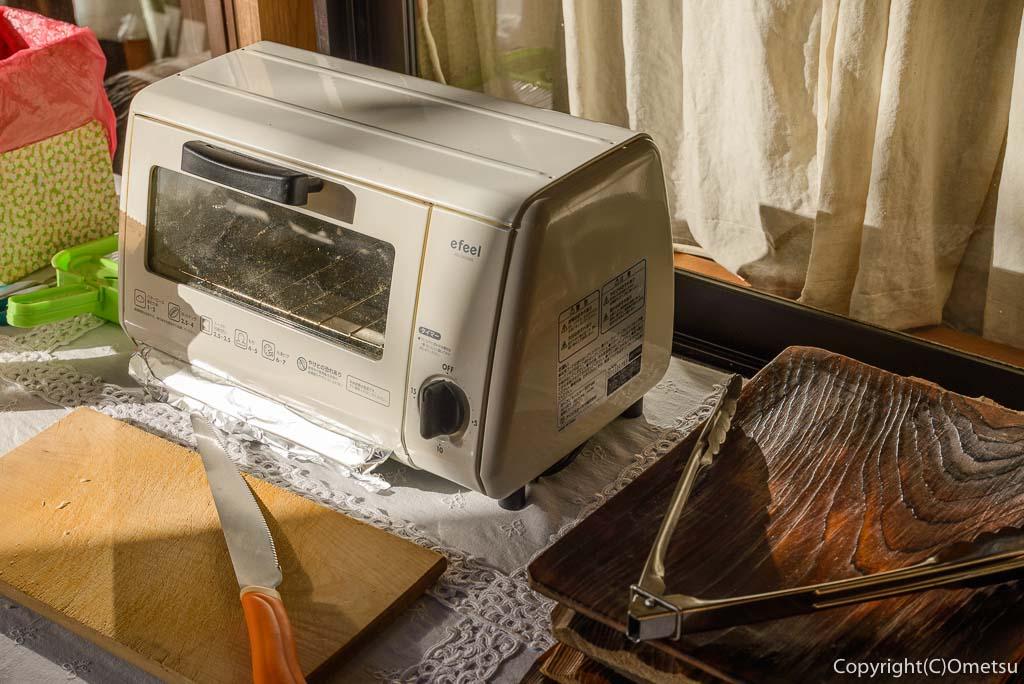 檜原村・笛吹の「たなごころ」のトースター