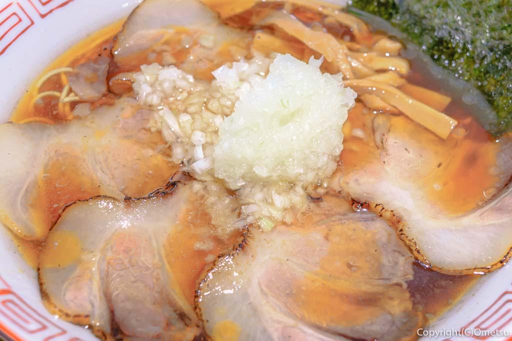 びんびん亭の炙りチャーシューメン