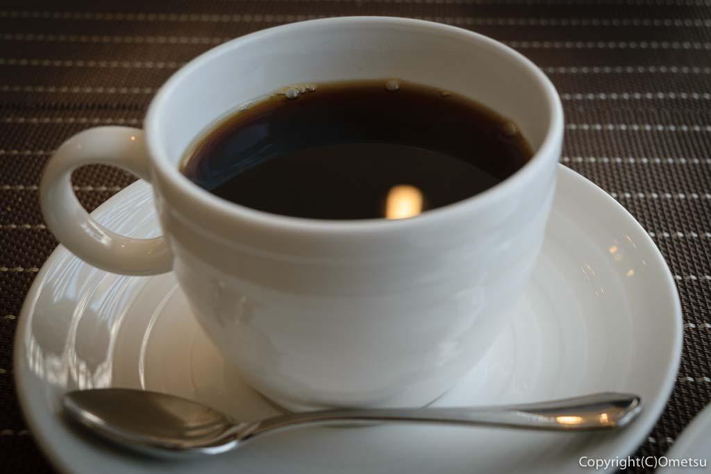 羽村市の欧風料理店、セレンディップの、コーヒー