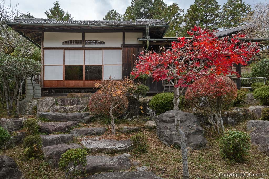 青梅・日向和田臨川庭園の茶室