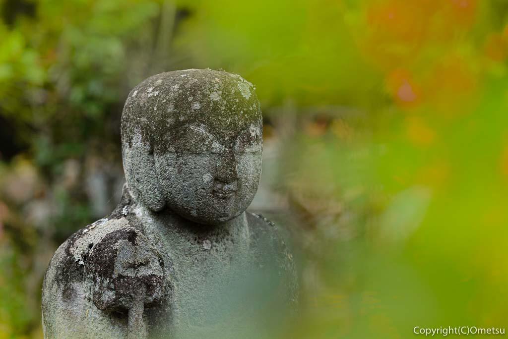 青梅・日向和田臨川庭園の地蔵