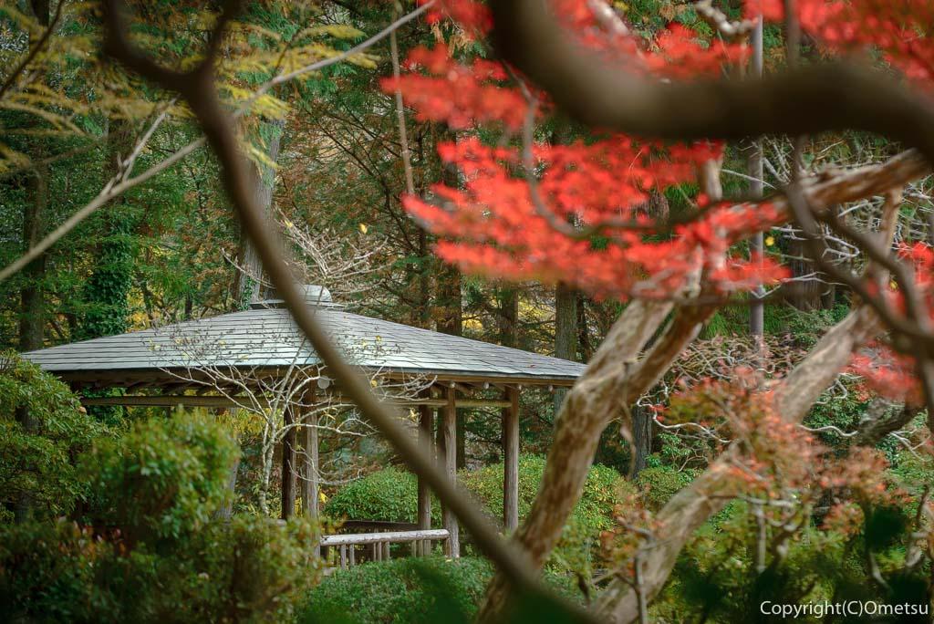 青梅・日向和田臨川庭園の東屋