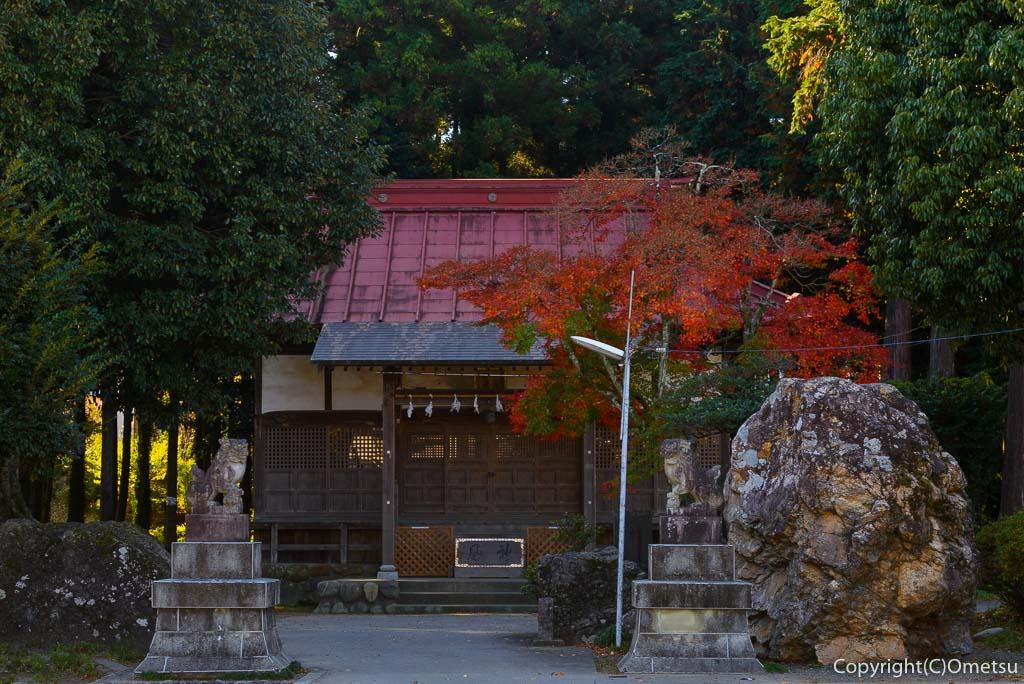 青梅市・長渕の鹿島玉川神社